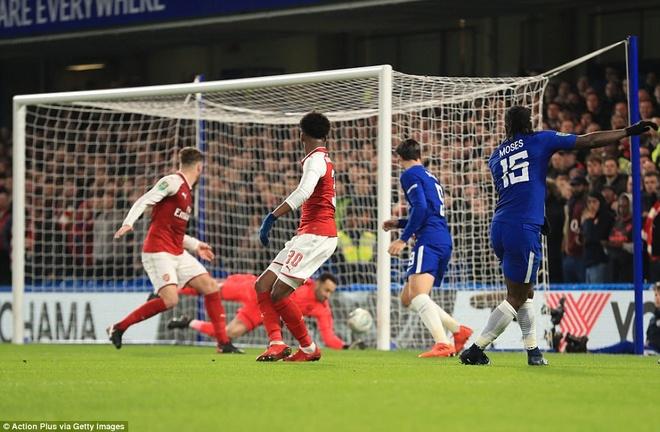 Arsenal hoa Chelsea nho thu mon Ospina va cot doc hinh anh 5