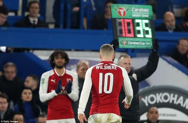 Arsenal hoa Chelsea nho thu mon Ospina va cot doc hinh anh 8