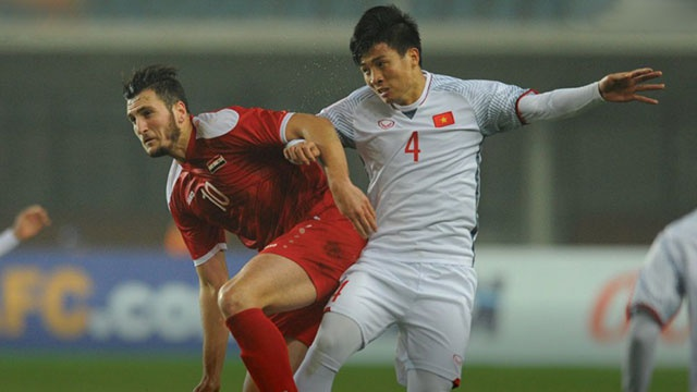U23 Viet Nam Vao Tu Ket U23 Chau A Sau Tran Hoa Syria Hinh Anh 1