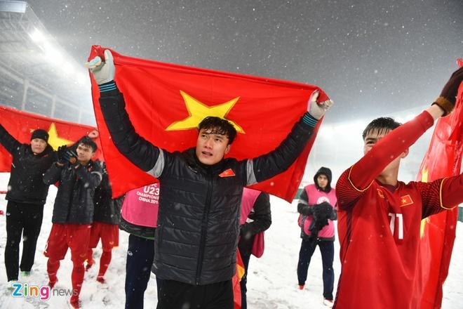 BLV Quang Huy: 'Khong the doi hoi hon o U23 Viet Nam' hinh anh 2