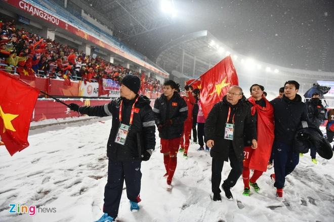 BLV Quang Huy: 'Khong the doi hoi hon o U23 Viet Nam' hinh anh 1