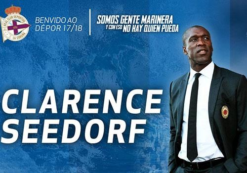Seedorf duoc chi dinh giup Deportivo tru hang hinh anh