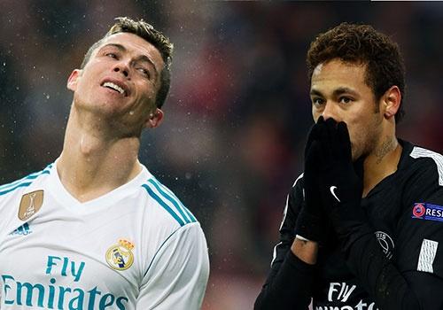 Neymar da cap Ronaldo o doi hinh ket hop Real va PSG hinh anh