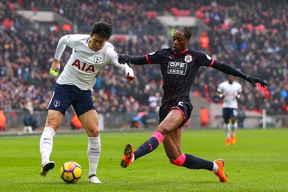 Tottenham 2-0 Huddersfield: Ngoi sao Han Quoc ghi cu dup ban thang hinh anh 16