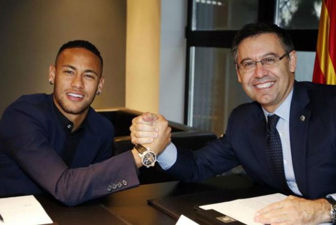 Barca phu nhan dua Neymar tro lai Nou Camp hinh anh 1
