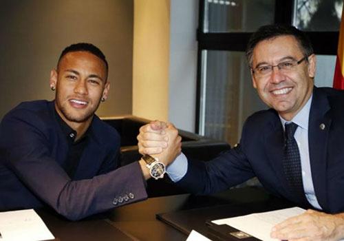 Barca phu nhan dua Neymar tro lai Nou Camp hinh anh
