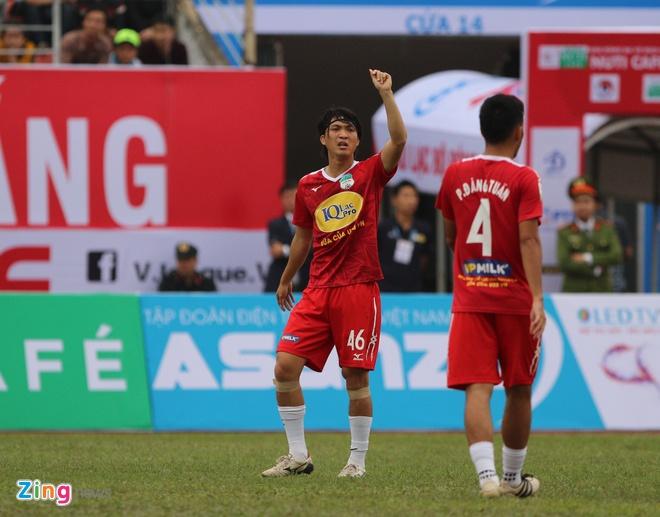 CLB Hai Phong 1-1 HAGL: Xuan Truong da phat dep mat hinh anh 19
