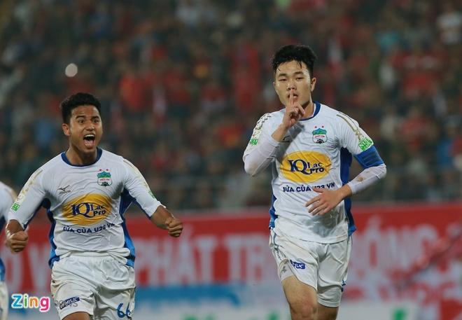 CLB Hai Phong 1-1 HAGL: Xuan Truong da phat dep mat hinh anh 39