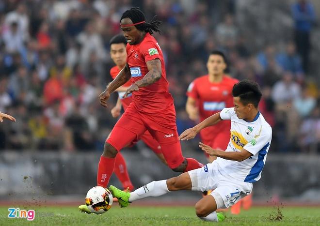 CLB Hai Phong 1-1 HAGL: Xuan Truong da phat dep mat hinh anh 33