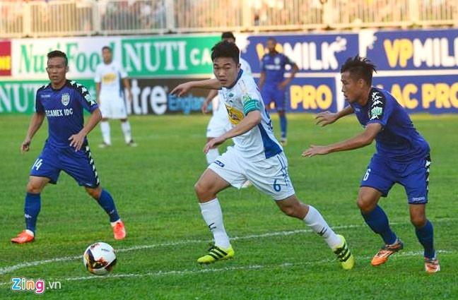 CLB Hai Phong 1-1 HAGL: Xuan Truong da phat dep mat hinh anh 5