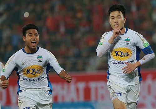 CLB Hai Phong 1-1 HAGL: Xuan Truong da phat dep mat hinh anh