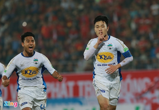 CLB Thanh Hoa 1-0 CLB TP.HCM: Tien Dung kien tao, Dinh Tung ghi ban hinh anh 4