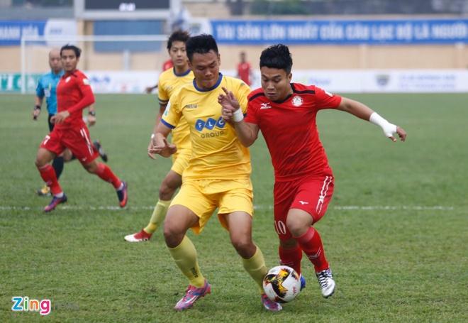 CLB Thanh Hoa 1-0 CLB TP.HCM: Tien Dung kien tao, Dinh Tung ghi ban hinh anh 17
