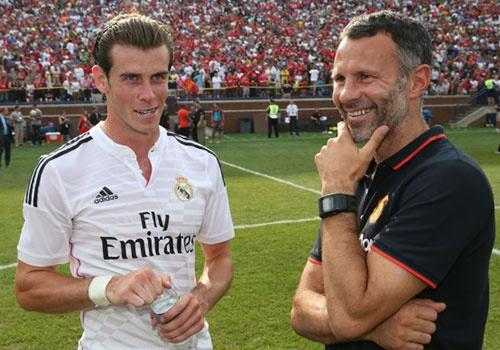 Ryan Giggs khuyen Bale tu choi MU de o lai Real hinh anh