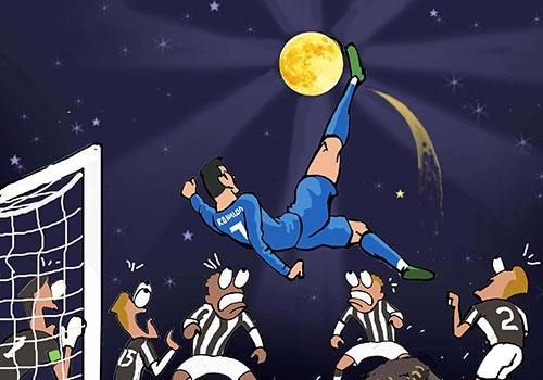 Hi hoa Ronaldo 'qua nhanh, qua nguy hiem' truoc Juventus hinh anh