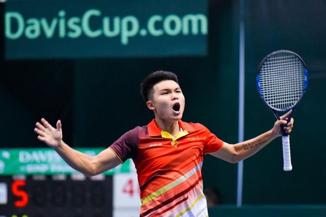 DT Viet Nam thang hang, Davis Cup nhom III thanh cong ruc ro hinh anh 1