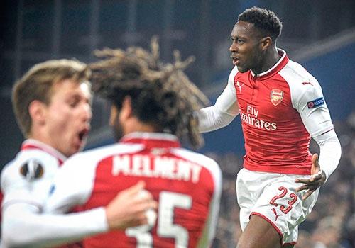 Arsenal lan dau vao ban ket Europa League sau 18 nam hinh anh
