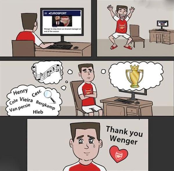 Hi hoa Wenger bi danh toi ta truoc khi roi xa Arsenal hinh anh 3