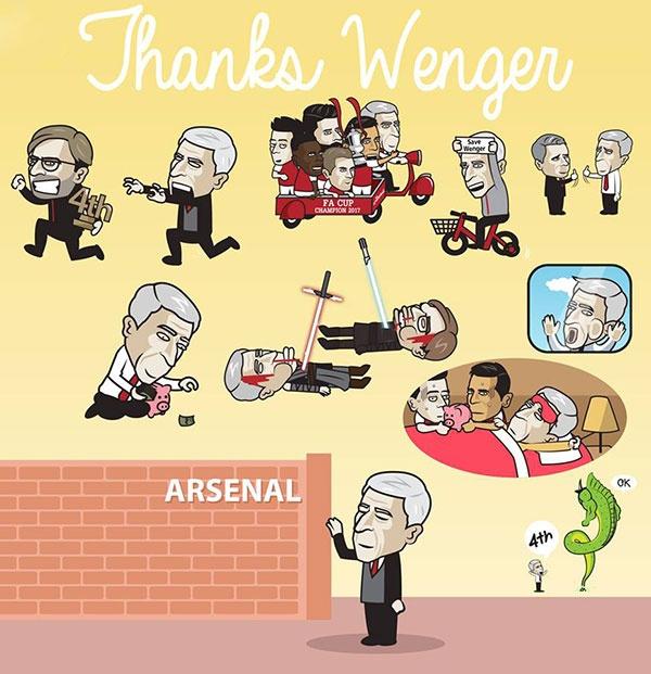 Hi hoa Wenger bi danh toi ta truoc khi roi xa Arsenal hinh anh 2