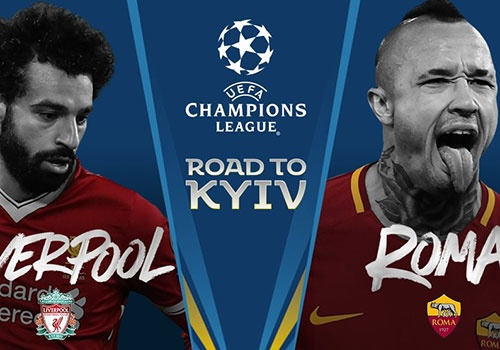 Liverpool vs AS Roma: Nhac cong dai chien dau si hinh anh