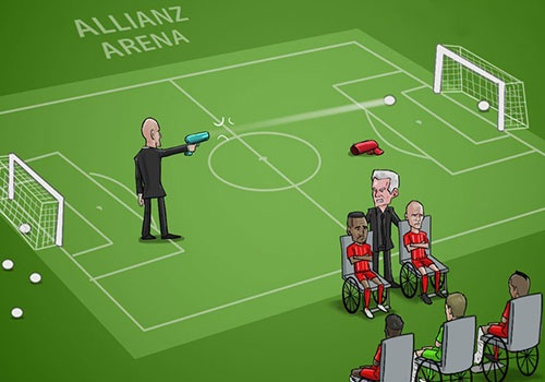 Hi hoa Zidane ban ha Bayern ngay tai Allianz Arena hinh anh