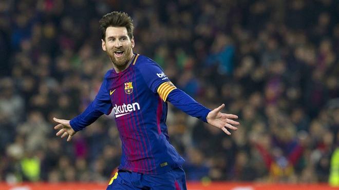 Messi vuot Salah o cuoc dua Giay vang chau Au anh 1