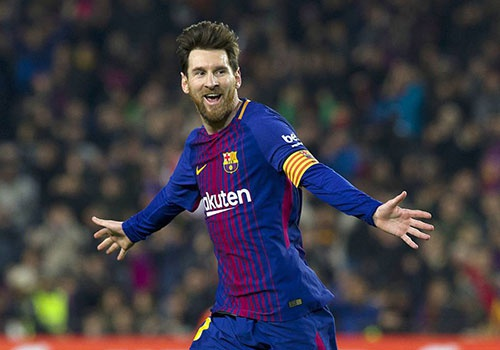 Messi vuot Salah o cuoc dua giay vang chau Au hinh anh