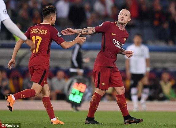 Tran AS Roma vs Liverpool anh 32