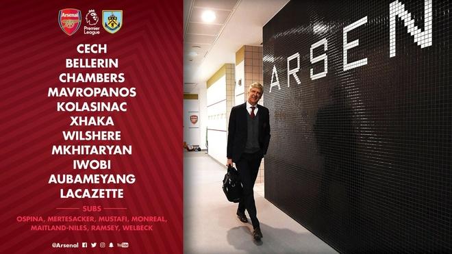 Arsenal 5-0 Burnley: Mua ban thang khi Wenger chia tay Emirates hinh anh 9