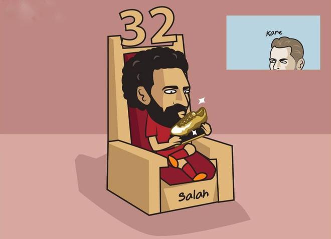 Hi hoa Ronaldo khoc vi Salah anh 2