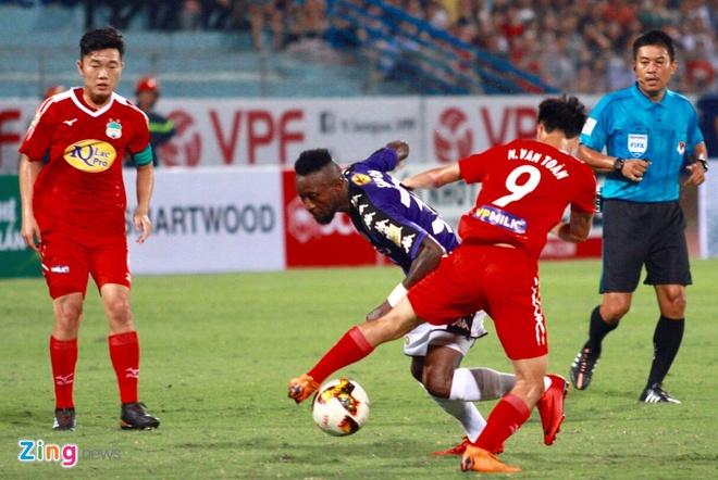 CLB Ha Noi 1-1 HAGL: Kich tinh va hap dan tren san Hang Day hinh anh 19
