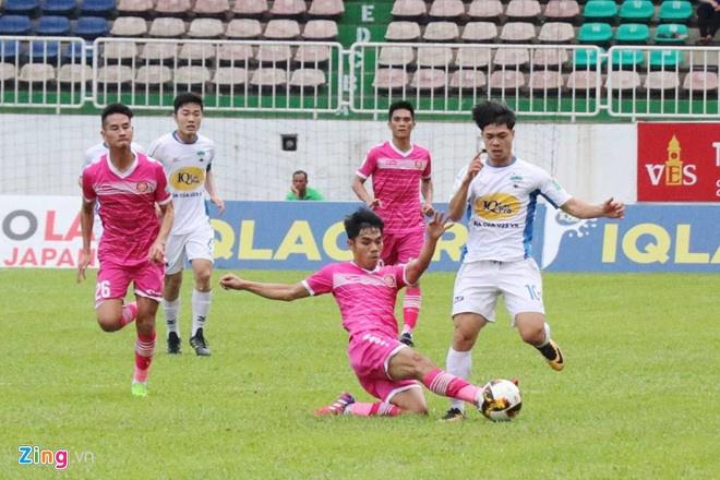 HAGL vs CLB Quang Ninh (4-0): Cong Phuong da phat, Van Toan ghi cu dup hinh anh 4