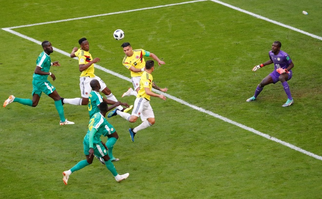 Senegal vs Colombia (0-1): Falcao va dong doi vao vong knock-out hinh anh 23