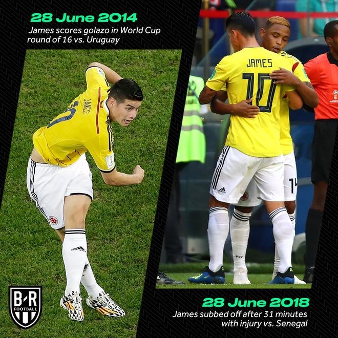 Senegal vs Colombia (0-1): Falcao va dong doi vao vong knock-out hinh anh 28