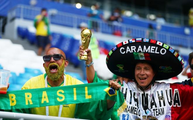 Neymar ghi ban va kien tao, Brazil vao tu ket World Cup hinh anh 15