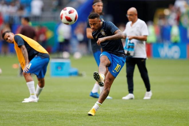 Neymar ghi ban va kien tao, Brazil vao tu ket World Cup hinh anh 22