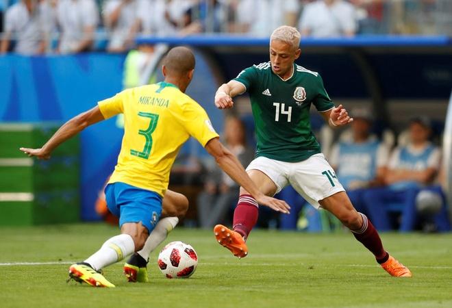 Neymar ghi ban va kien tao, Brazil vao tu ket World Cup hinh anh 31