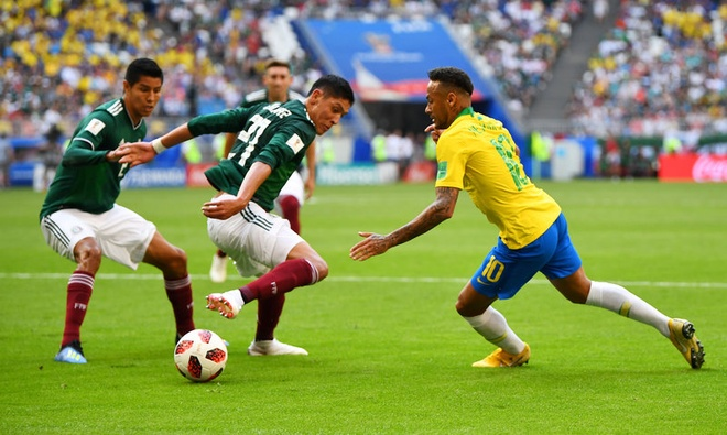 Neymar ghi ban va kien tao, Brazil vao tu ket World Cup hinh anh 34