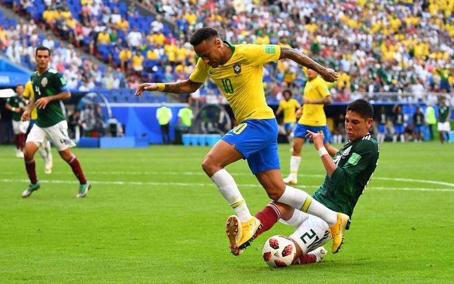 Neymar ghi ban va kien tao, Brazil vao tu ket World Cup hinh anh 37