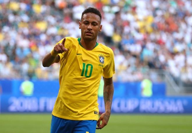 Neymar ghi ban va kien tao, Brazil vao tu ket World Cup hinh anh 54