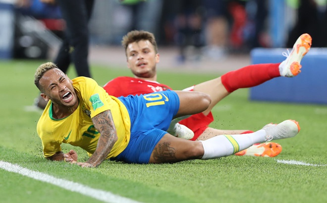 Neymar ghi ban va kien tao, Brazil vao tu ket World Cup hinh anh 5