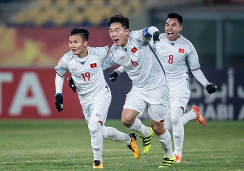 Olympic VN 2-1 Olympic Palestine: Cong Phuong ghi ban va kien tao hinh anh 10