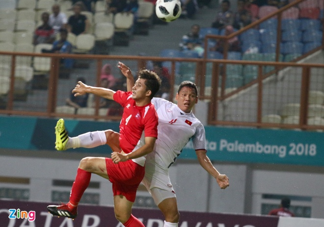 Danh bai Nepal 2-0, Olympic Viet Nam vao vong knock-out ASIAD hinh anh 19