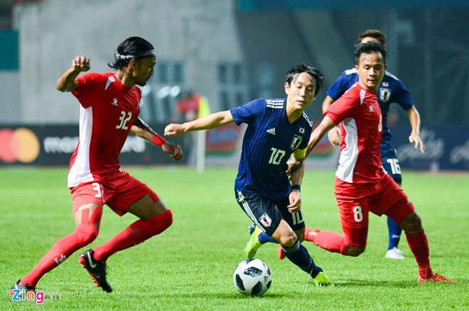 Danh bai Nepal 2-0, Olympic Viet Nam vao vong knock-out ASIAD hinh anh 6