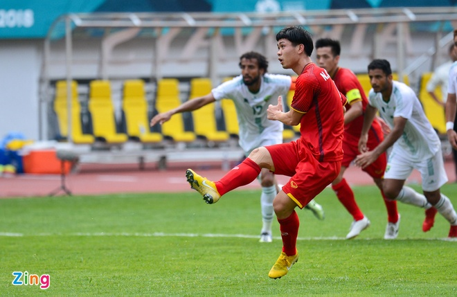 Danh bai Nepal 2-0, Olympic Viet Nam vao vong knock-out ASIAD hinh anh 13