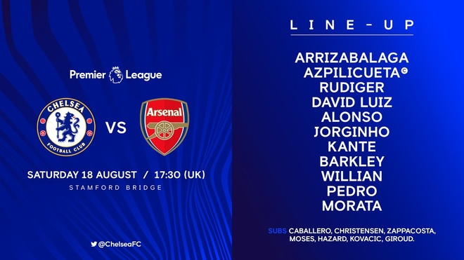 Chelsea vs Arsenal (3-2): Hazard kien tao, Oezil gay that vong hinh anh 7