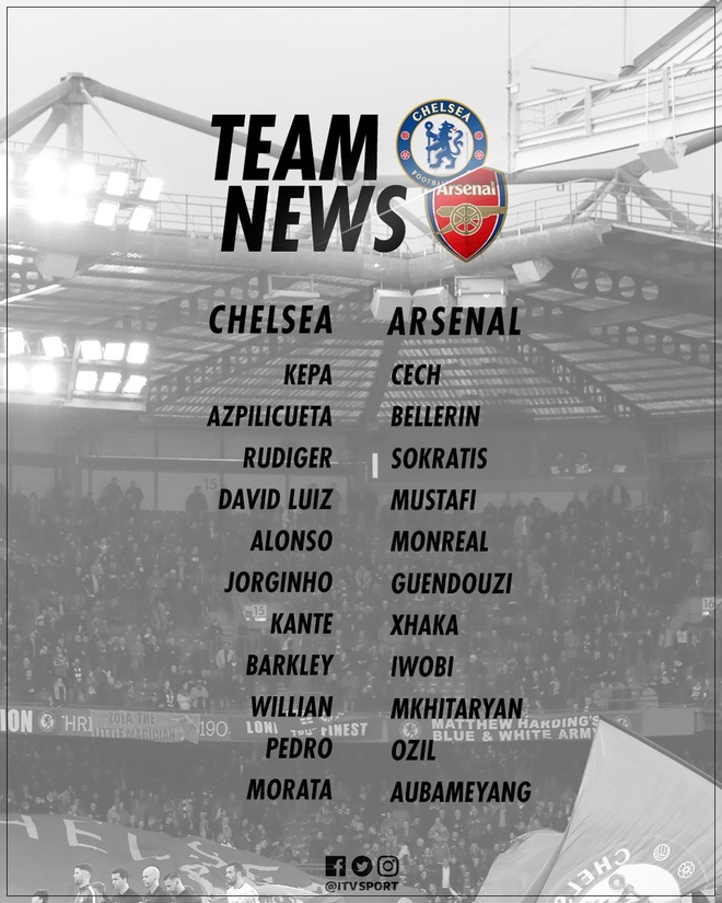 Chelsea vs Arsenal (3-2): Hazard kien tao, Oezil gay that vong hinh anh 15