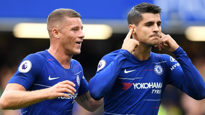 Chelsea vs Arsenal (3-2): Hazard kien tao, Oezil gay that vong hinh anh 22