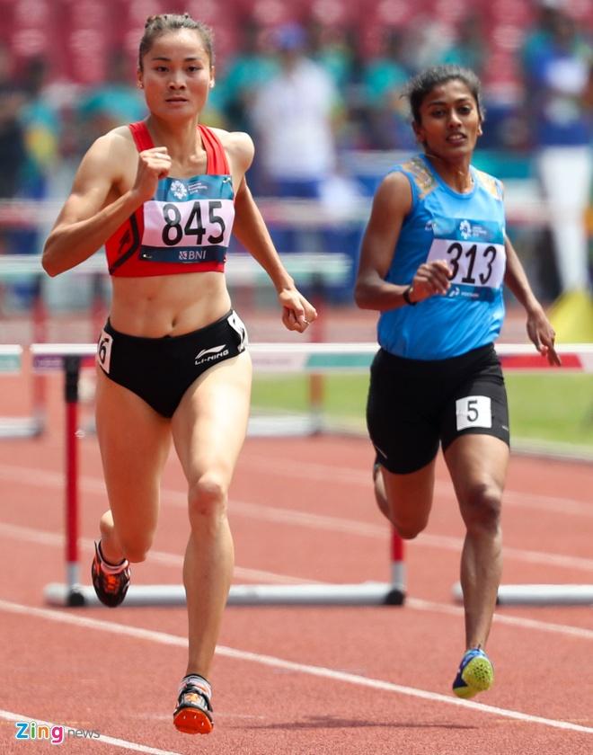 ASIAD ngay 26/8: Le Tu Chinh khong the vao chung ket chay 100 m nu hinh anh 27