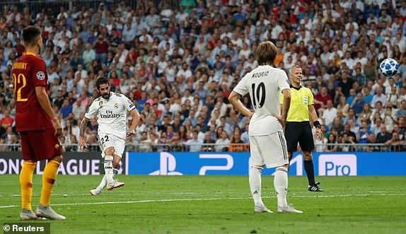Real vs Roma anh 28